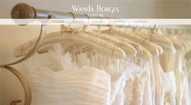 Home do site Wanda Borges