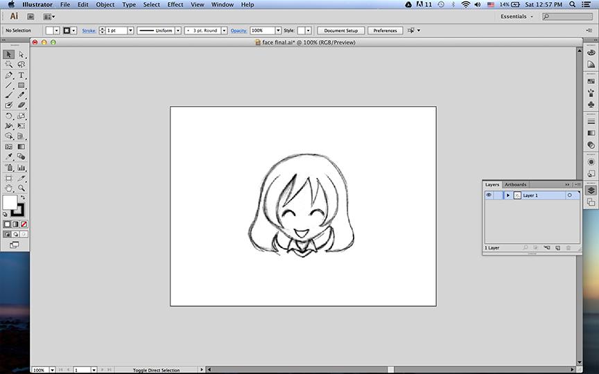 Inserindo uma imagem no Illustrator