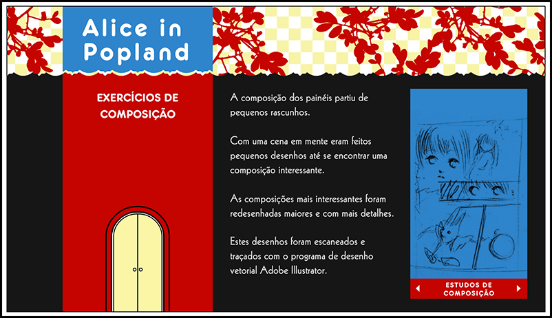 Alice in popland - Composicao