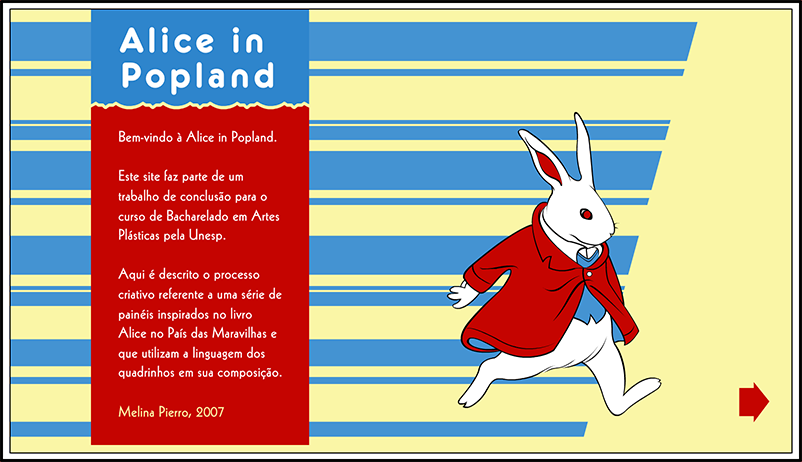 Alice in popland - Home
