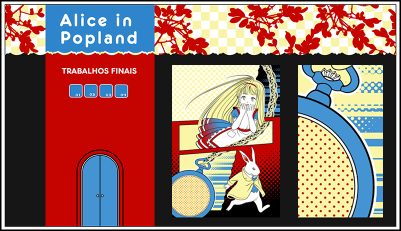 Alice in popland - Trabalhos Finais