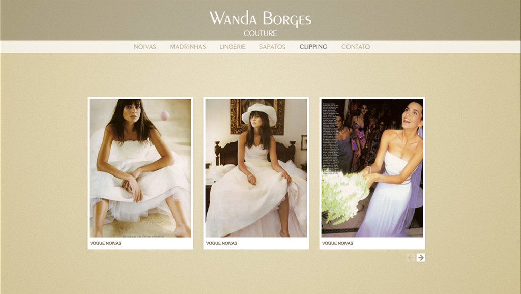 Wanda Borges - Clipping