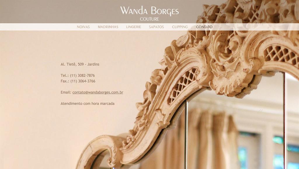 Wanda Borges - Contato