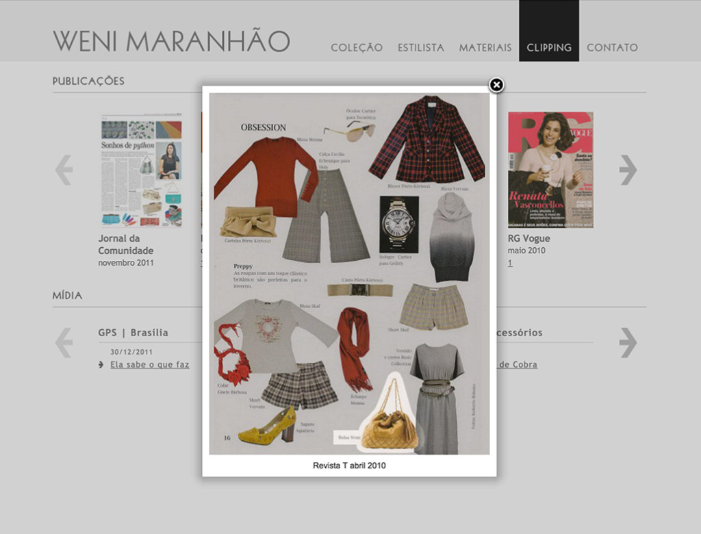 Weni Maranhão - Clippings