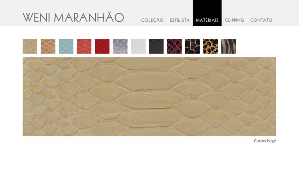 Weni Maranhão - Materiais